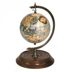 Support for the globe, desktop Authentic Models