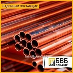 Pipe copper MNZh 5-1 about (otozh. to p/t)