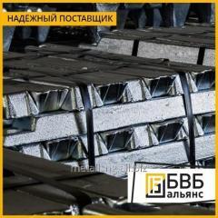El lingote de metal tsinkovaya ЦАО6