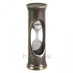 Three-minute bronze hourglasses of Authentic