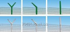 Safety barrier bars