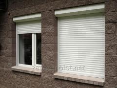 Rolling shutters of Alplas