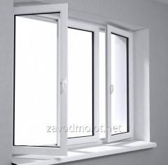 The block is window