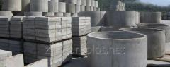 Products from concrete