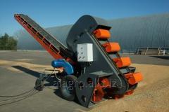 Kovshovy shnekovy loader of KShP-6UM