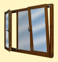 The window is rotary and folding