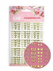 Декор Charmicon 3D Silicone Stickers Бантики