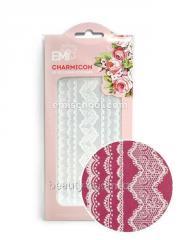 Декор Charmicon 3D Silicone Stickers Кружева белые