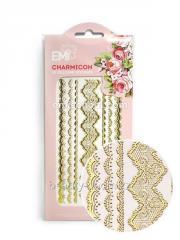 Декор Charmicon 3D Silicone Stickers Кружева