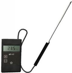 The thermometer portable with ZhK the display