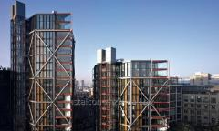 Frameworks of high-rise residential buildings