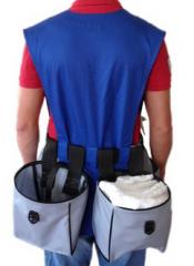 Bag for a vest, a code tovara:11.0001.01