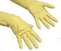 Перчатки резиновые - M, L., код: 11.0022