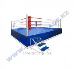 Ring of boxing 5 x 5 m with a scaffold 6,1 x 6,1
