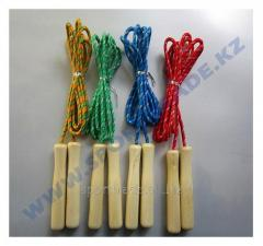 Jump rope wooden handle simple