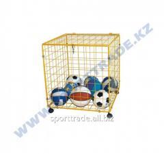 Basket for balls 100kh80kh80sm metal