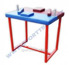 Table for an armwrestling bilateral