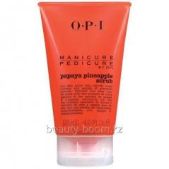 Srub for manicure and a pedicure the Papaya and