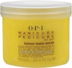 Srub for manicure and a pedicure Tonic - the Lemon