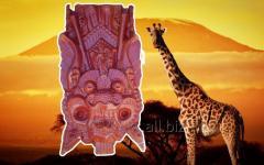 Коллекция африканских масок