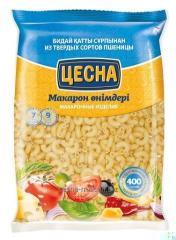 Tsesn Rozhki's macaroni corrugated 0,4 kg