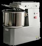 Машина тестомесильная МТ-25 предназначена для замеса не только дрожжевого, но и крутого теста на малых хлебопекарных предприятиях, в кондитерских цехах предприятий общественного питания.