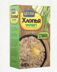 Flakes of 5 cereals of Tsesn of 400 g