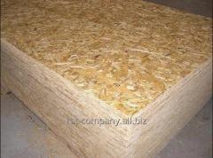 OSB 3 plywood, available