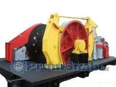 Winches driving LPE