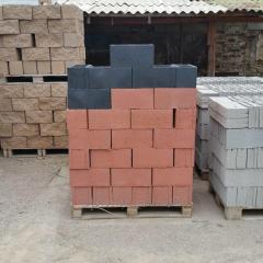 Блок сплитерный, Блоки пескобетонные