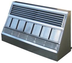 Вытяжки вентиляционные предназначены для очистки