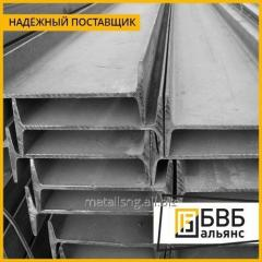 La viga la de doble T de acero 55Б2 st3sp/ps 12м