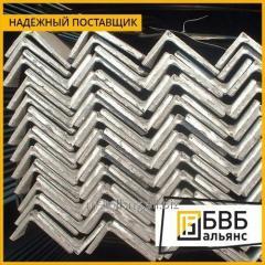 El rincón de acero neravnopolochnyy 100х63х6 ст3