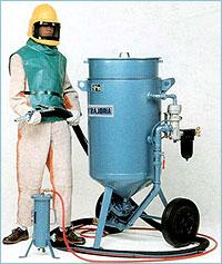 Abrazivostruyny AIRBLAST ABSC 2452 installation