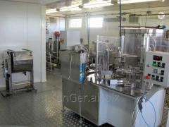 The set of the equipment for production of