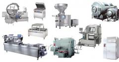 The miniplant for processing of meat, productivity