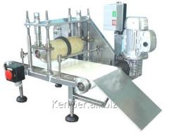 The set of the equipment for cutting, packing and
