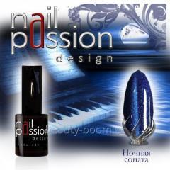 Magnetic gel varnish Night sonata Article: 5002