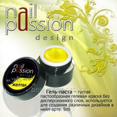 Gel-paste yellow 5gr Article: GP05