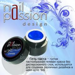 Gel-paste blue 5gr Article: GP06