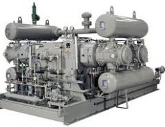 Stations compressor nitric