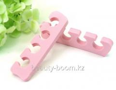 Divider for fingers of 2 pieces Pink