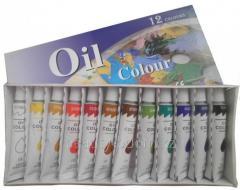 Set of paints oil 12shtkh12ml