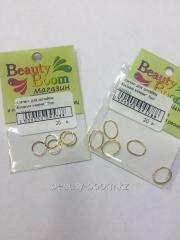 Ringlet for design Liquid stones of 5 pieces gold