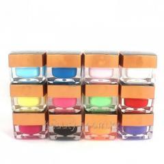Paint gel Soso, set 12shtkh5ml Pure Color UV Gel