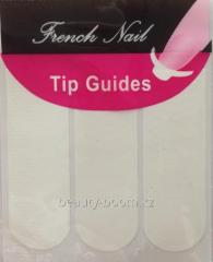 Strips for the French manicure of FJ001 classical,