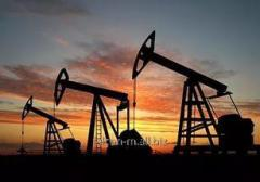 Correspondence of oil products on oil dep