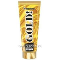 Cream for suntan of Soleo Gold 200ml