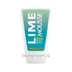 Cream for suntan of Soleo Lime Mousse 100ml