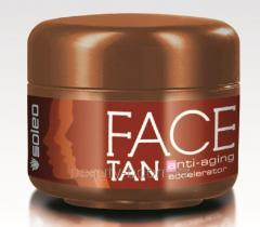 Cream for suntan of the person with antieydzh